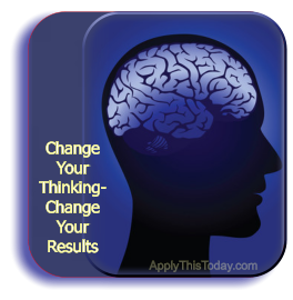 Change your thinking...