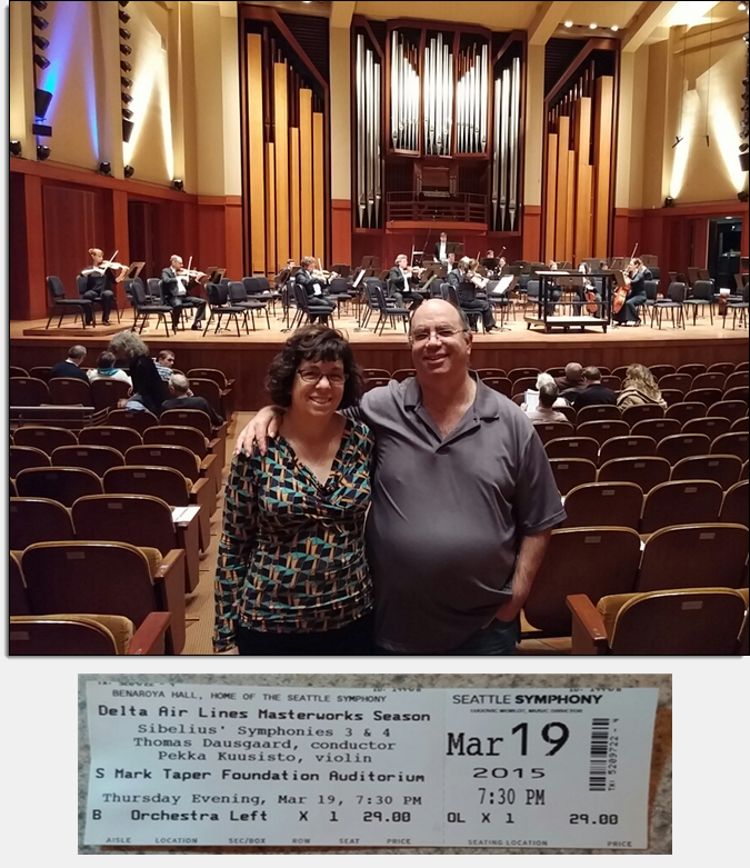 Today's Highlight – Sibelius with the Seattle Symphony